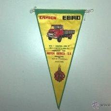 Banderines de colección: BANDERÍN CAMIÓN EBRO. Lote 48638109