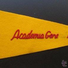Banderines de colección: ACADEMIA GENERAL DEL AIRE.BANDERÍN DE TELA.TAMAÑO: 45 X 18 CTS.. Lote 48862719