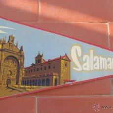 Banderines de colección: SALAMANCA.BANDERIN TURISTICO.TAMAÑO: 26 X 13 CTS. Lote 48864930