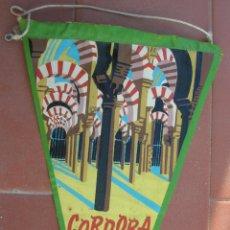Banderines de colección: LA MEZQUITA.CÓRDOBA.BANDERIN TURISTICO.TAMAÑO: 25 X 14 CTS. Lote 48865189