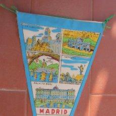 Banderines de colección: MADRID.BANDERIN TURISTICO.TAMAÑO: 27 X 14 CTS.. Lote 48865477