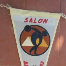 Banderines de colección: SALON CAMPING Y DEPORTE 65.BANDERIN.TAMAÑO:27 X 14 CTS.. Lote 48880177