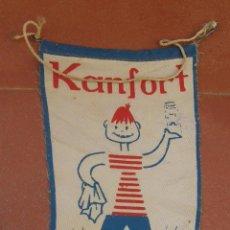 Banderines de colección: KANFORT.V FERIA INTERNACIONAL DEL CAMPO.PEQUEÑO BANDERIN.TAMAÑO: 13 X 8 CTS. Lote 48881442