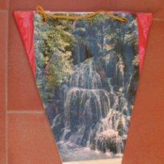 Banderines de colección: MONASTERIO DE PIEDRA ( ZARAGOZA ).BANDERIN TURISTICO.TAMAÑO: 27 X 15 CTS.. Lote 48881654