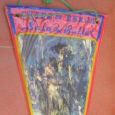 Banderines de colección: CUEVA DE NERJA.SALA DEL BALLET.BANDERIN TURISTICO.TAMAÑO: 30 X 14 CTS.. Lote 48881921