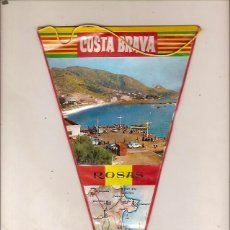 Banderines de colección: BANDERIN ROSAS COSTA BRAVA . Lote 49367749