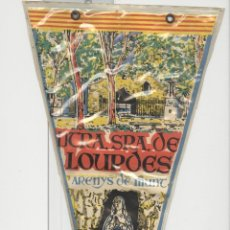 Banderines de colección: BANDERIN. LOURDES ARENYS DE MUNT.. Lote 49389705