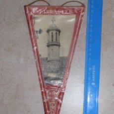 Banderines de colección: ANTIGUO BANDERIN DE TELA DE ESPARRAGUERA. Lote 50153334
