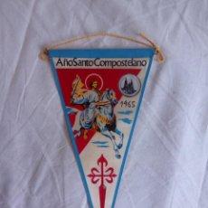 Banderines de colección: BANDERIN AÑO SANTO COMPOSTELANO 1965. Lote 68523082