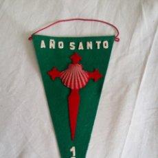 Banderines de colección: BANDERIN DE FIELTRO AÑO SANTO COMPOSTELANO 1965. Lote 50524541