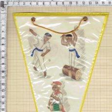 Banderines de colección: BANDERIN MOTIVOS TRADICIONES VASCONGADAS.. Lote 50613790