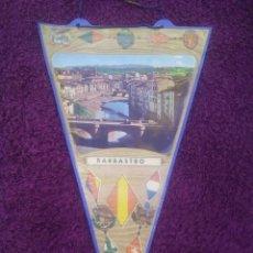 Banderines de colección: BANDERÍN DE BARBASTRO. Lote 50627715