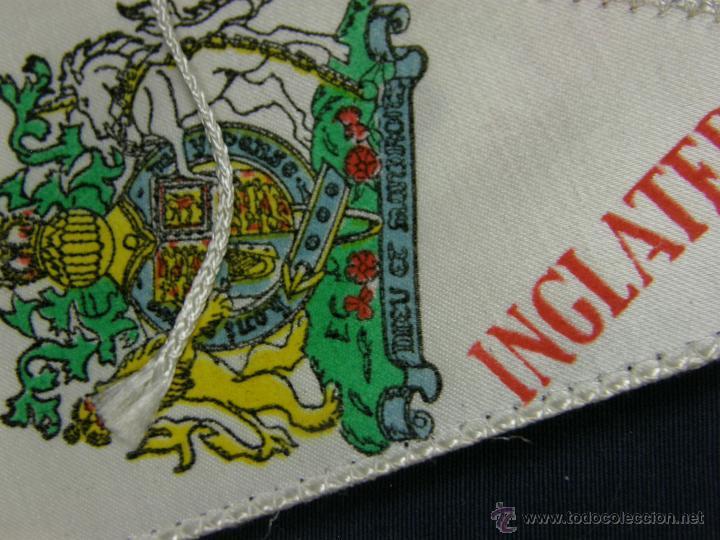 Banderines de colección: conjunto 16 banderines viajes marsans s.a. ciudades escudos impresos varias 24x14cms - Foto 6 - 51342209