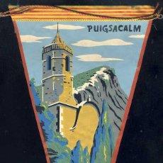 Banderines de colección: BANDERIN DE VIDRA, EL PUIGSACALM. Lote 52076988