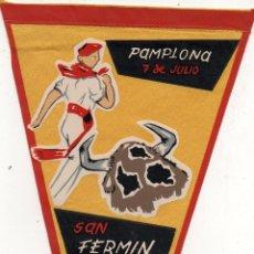 Banderines de colección: PAMPLONA 7 DE JULIO SAN FERMIN.. Lote 53080225