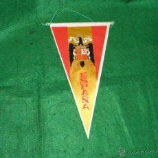 Banderines de colección: BANDERIN DE ESPAÑA UNA GRANDE Y LIBRE. Lote 121345395