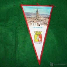 Banderines de colección: BANDERIN DE CALATAYUD AUGUSTA BILBILIS. Lote 53324699