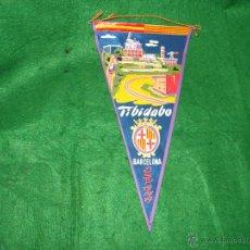 Banderines de colección: BANDERIN DEL TIBIDABO BARCELONA. Lote 53324845
