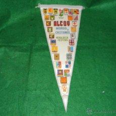 Banderines de colección: BANDERIN MOROS Y CRISTIANOS DE ALCOY HERALDICA FESTERA. Lote 53325031