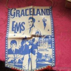 Fanions de collection: BANDERIN ELVIS PRESLEY GRACELAND. Lote 53819040