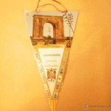 Banderines de colección: BANDERIN DOBLE CARA DE TARRAGONA, AÑOS 70. Lote 53960476