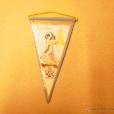 Banderines de colección: BANDERIN PEQUEÑO DE SEVILLA. AÑOS 70. Lote 53960642