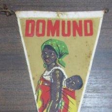 Banderines de colección: BANDERIN DOMUND. PUEBLOS JOVENES, IGLESIAS JOVENES.. Lote 54046324