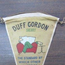 Banderines de colección: BANDERIN DUFF GORDON, SHERRY. PUERTO DE SANTA MARIA.. Lote 54047324