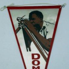 Banderines de colección: BANDERÍN TELA DÍA DEL DOMUND MISIONES AÑOS 60 . Lote 54223842