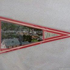 Banderines de colección: BANDERÍN PLASTIFICADO SAN RAFAEL ESPAÑA AÑOS 60. Lote 54234473