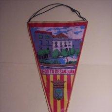 Banderines de colección: BANDERÍN (HORTA DE SAN JUAN) PLASTIFCADO. Lote 54484450