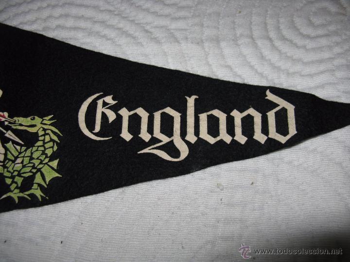 Banderines de colección: ANTIGÜO BANDERIN INGLES ST. GEORGE HERO OF ENGLAND - Foto 2 - 54491387