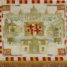 Banderines de colección: BANDERIN EN SEDA DE LA EXPOSICION INTERNACIONAL DE BARCELONA 1929. DSOTO.. Lote 51417628