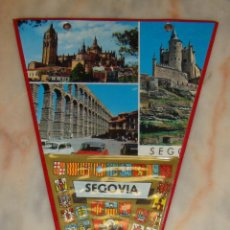 Banderines de colección: BANDERIN SEGOVIA. Lote 55067695
