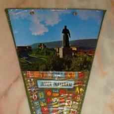Banderines de colección: BANDERIN JAVIER NAVARRA. Lote 55111188