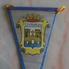 Banderines de colección: MINI BANDERIN PONTEVEDRA. Lote 55114618