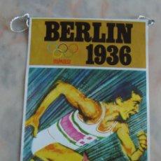 Banderines de colección: BANDERIN BIMBO JUEGOS OLIMPICOS BERLIN 1936. Lote 55347321