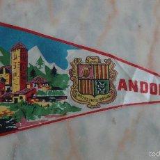 Banderines de colección: BANDERIN ANDORRA . Lote 55347901