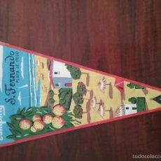 Banderines de colección: BANDERIN CAMPING SAN FERNANDO PLAYA DE PEGO. Lote 56085295