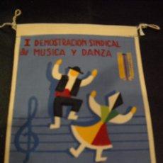 Bandierine di collezione: BANDERÍN DEMOSTRACIÓN DE MÚSICA Y DANZA. Lote 56188188