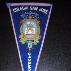 Banderines de colección: BANDERÍN COLEGIO SAN JOSE. Lote 56193538