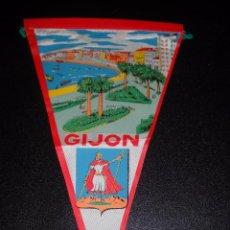 Banderines de colección: BANDERÍN GIJON. Lote 56194063