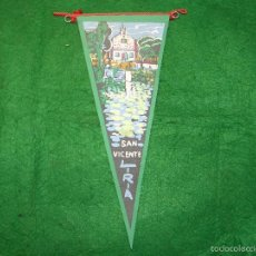 Banderines de colección: BANDERIN DE SAN VICENTE DE LIRIA. Lote 56510195