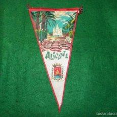 Banderines de colección: BANDERIN DE ALICANTE. Lote 56510663
