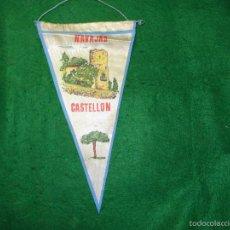 Banderines de colección: BANDERIN DE NAVAJAS DE CASTELLON. Lote 56510693
