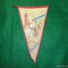 Banderines de colección: BANDERIN DE SEVILLA. Lote 56510991