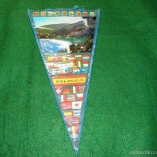 Banderines de colección: BANDERIN PANTANO DE GENERALISIMO DE UTIEL. Lote 56511194