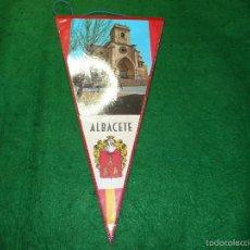 Banderines de colección: BANDERIN DE ALBACETE. Lote 56511236