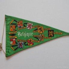 Banderines de colección: BELGIQUE - L' UNION FAIT LA FORCE. Lote 56990998