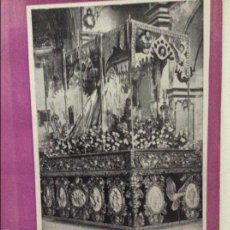 Banderines de colección: REVISTA PASION LORCA MURCIA - DE TEMAS LORQUINOS DE SEMANA SANTA Y DOCUMENTALES 1953. Lote 57620268